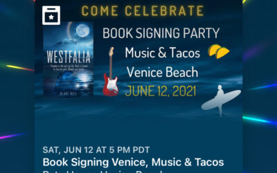 Book Signing Party, June 12, 2021 in Venice, CA