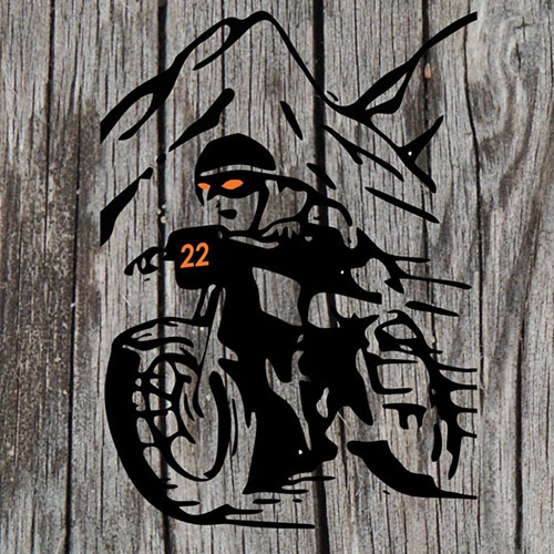 motorcycle-color-on-wood-square