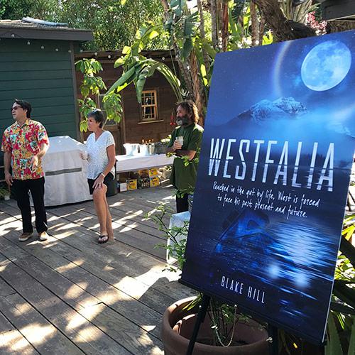 Blake Hill Westfalia Book Tour