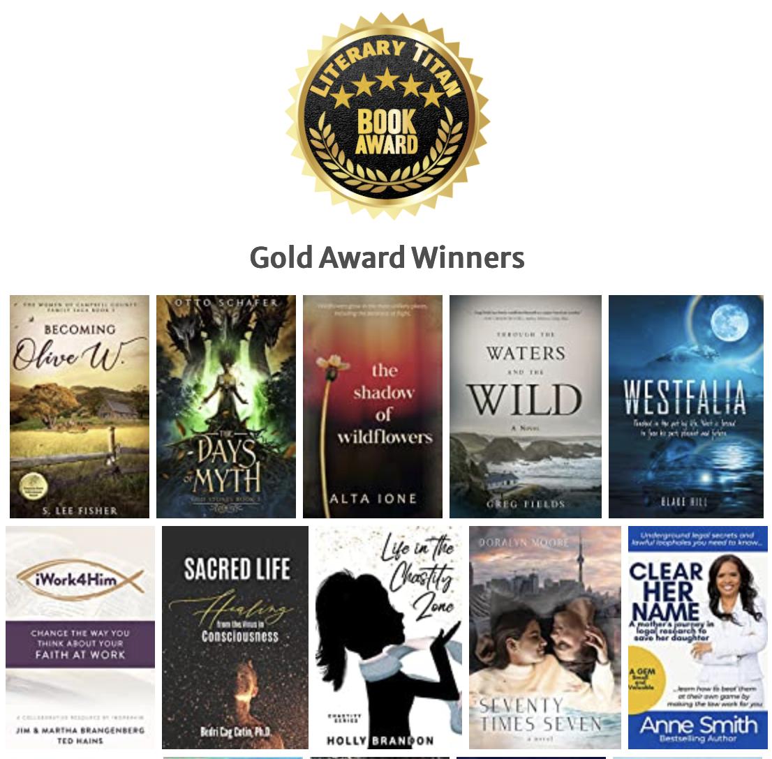 Literary Titan august gold award Westfalia
